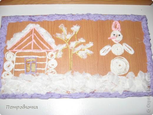 Рисунок тканью по пенопласту. как правильно назвать эту технику не знаю. фото 14