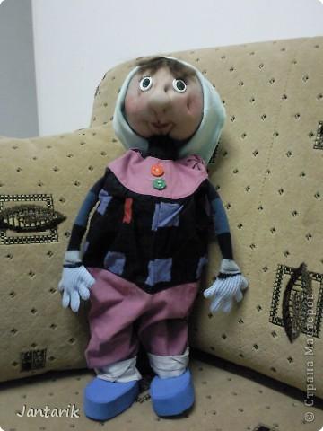 Ещё одна настольная кукла. фото 1