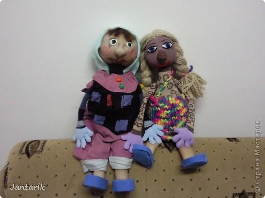Ещё одна настольная кукла. фото 3