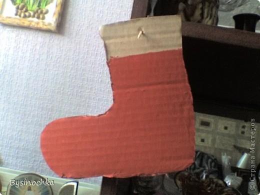 Приглядывалась я к технике торцевания и решила попробывать.Сделала заготовку из картона,покрасила в цвет будущих торцовочек фото 1