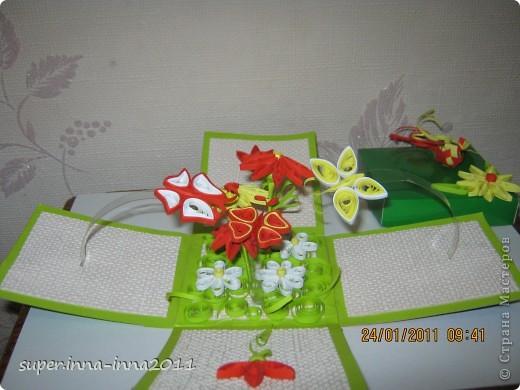 смотрела работы мастериц. понравились такие коробочки и решила сделать на подарок фото 2