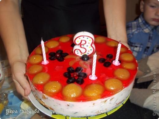 торт дочке на день рождения
