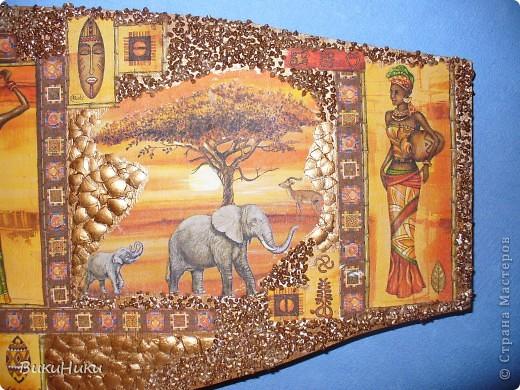 Панно с поднадоевшей Африкой :-) фото 2