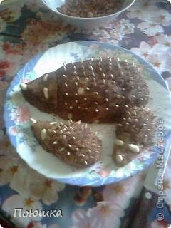 Кальмар, фаршированный сырным салатом фото 3