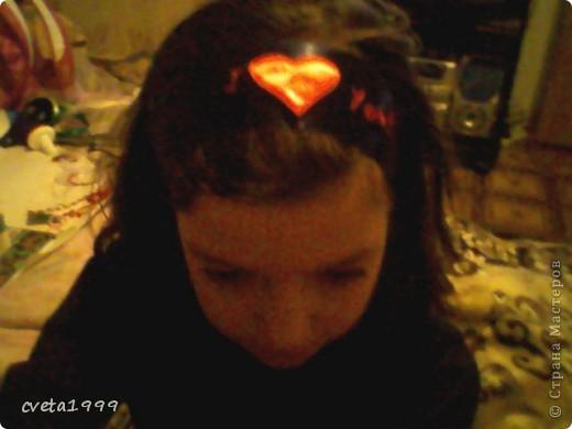 вот такая моя первая повязка на голову! фото 1