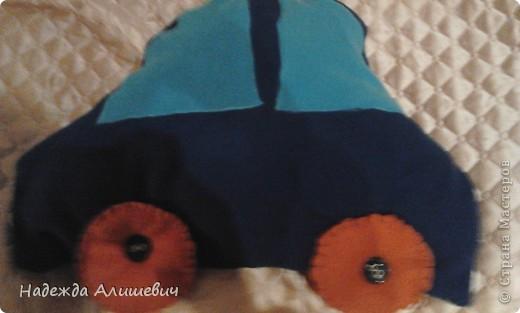 Машинка-подушка фото 6