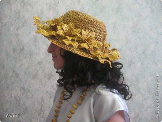 Соломенная шляпка фото 1