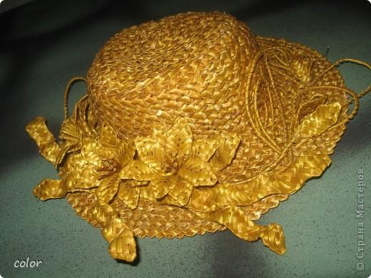 Соломенная шляпка фото 2