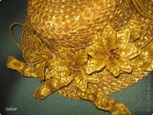 Соломенная шляпка фото 3