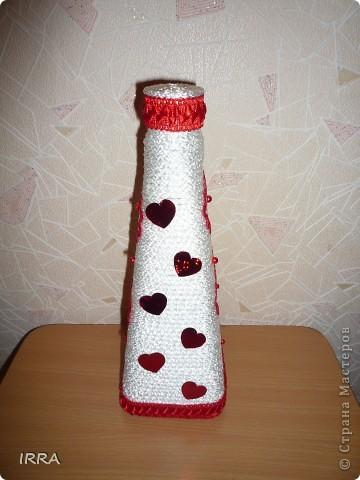 Бутылочка сердечная фото 2