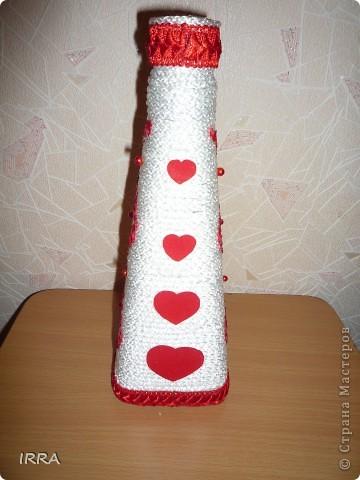 Бутылочка сердечная фото 3