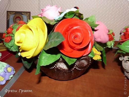 Корзина с цветами! фото 1