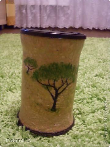 Мой первый мастер-класс))))))...... Я люблю украшать разные банки.....вот решила украсить банку из под кофе) фото 8