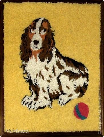 Эти ковры я делала лет 15 назад. И они до сих пор висят и радуют меня и родителей - как привет из детства фото 1