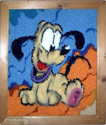Эти ковры я делала лет 15 назад. И они до сих пор висят и радуют меня и родителей - как привет из детства фото 3