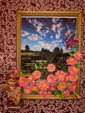 Вот-такие цветочки распустились  у меня на лугу в середине зимы. фото 1