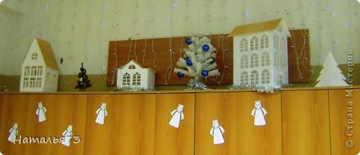 Домики на шкафчиках в классе фото 1