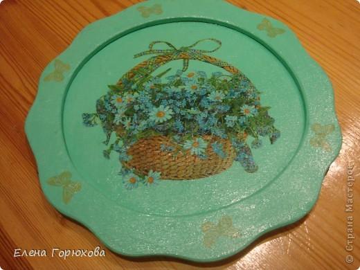 Тарелочка для мамочки фото 2
