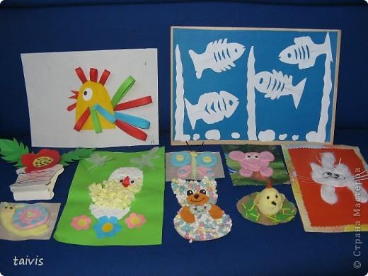 Понравившиеся идейки от рукодельниц из Страны Мастеров,выполнены моими детишками из детского сада.В разных возрастных группах. фото 2