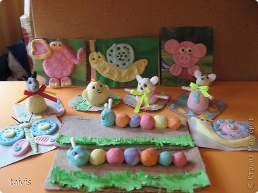 Понравившиеся идейки от рукодельниц из Страны Мастеров,выполнены моими детишками из детского сада.В разных возрастных группах. фото 3