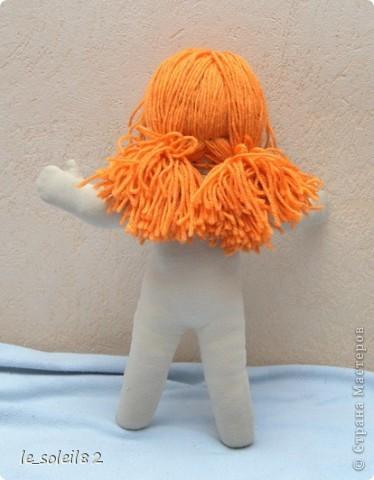 Вальдорфская кукла. Зовут Алиса. Это мой первый опыт в шитье таких кукол.  фото 4
