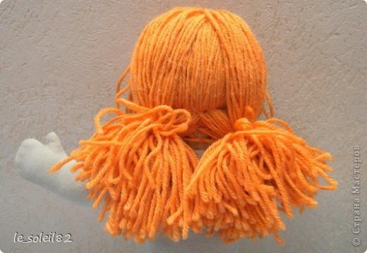 Вальдорфская кукла. Зовут Алиса. Это мой первый опыт в шитье таких кукол.  фото 5