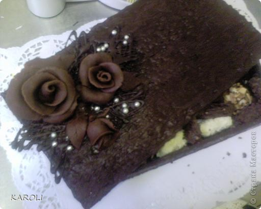 шоколадная коробочка с бельгийскими конфетами ручной работы фото 1