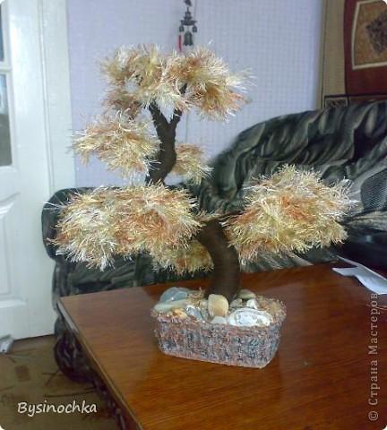 Сделала подруге на День Рождения дерево по МК Юлии Часовских фото 1