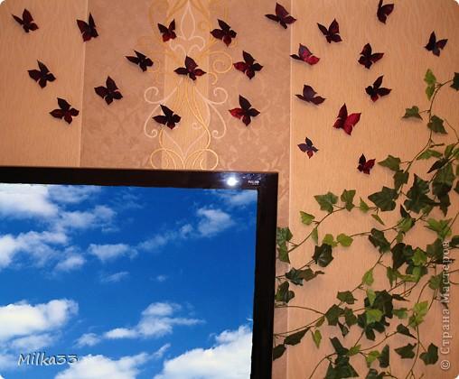 бабочка из ткани за 15 минут фото 12