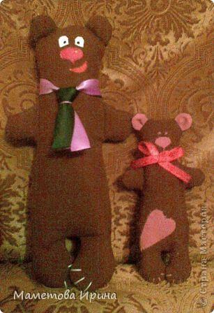 Еще один Тильда медвежонок. С секретом внутри (в него зашит мешочек с кофе, запах есть но не очень сильный) фото 2