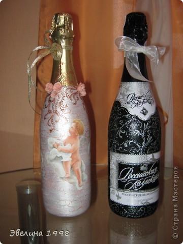 Праздничные бутылочки ко дню св.Валентина фото 1