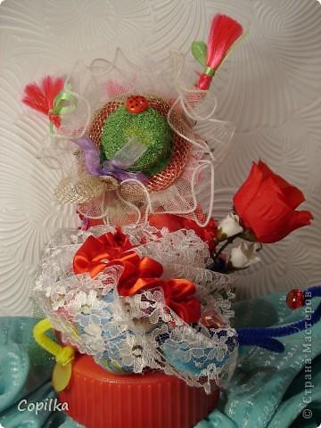 Вот такая Валентина(для своих - Валентинка) у меня получилась в подарок. фото 5