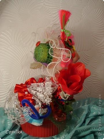 Вот такая Валентина(для своих - Валентинка) у меня получилась в подарок. фото 4