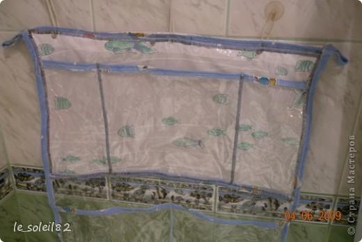 Такое вот панно сшила в ванну для игрушек дочери. Панно сшито из плотного пакета. Края заделаны косой бейкой, которая сделана из пеленок дочки.  фото 3