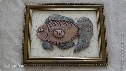 Вот такая рыбка получилась!
