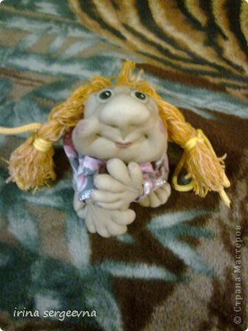Моя первая кукла, а помог мне ее сделать МК Ликмы, всего за 7 часов. фото 2