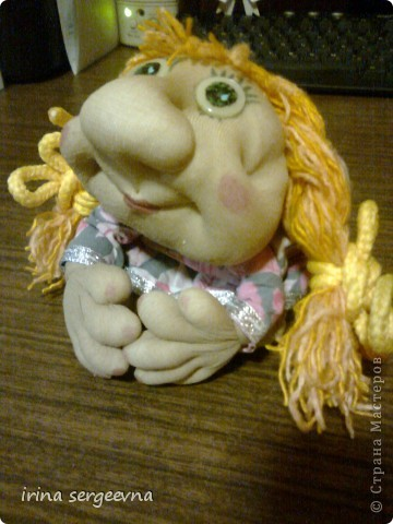 Моя первая кукла, а помог мне ее сделать МК Ликмы, всего за 7 часов. фото 1