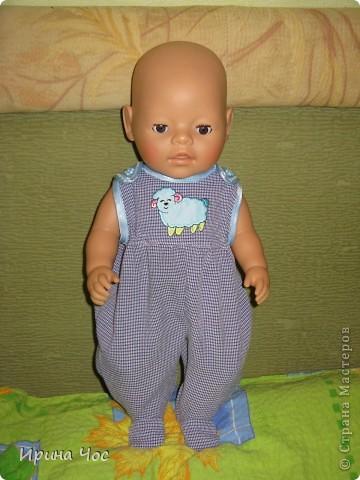Шьем одежду для беби бона