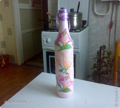 Просто веселенькая солнечная бутылка фото 2