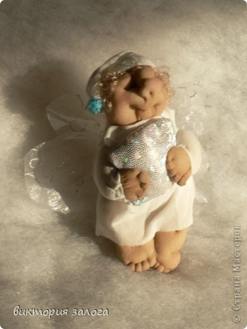 Ангел-сплюшка по МК Ликмы фото 1