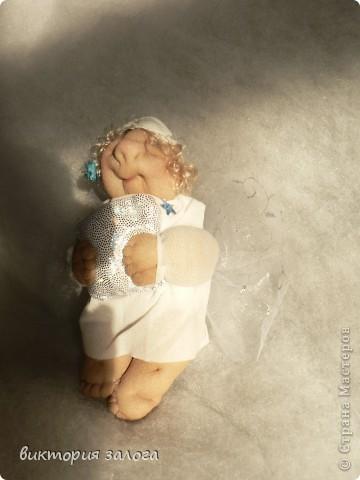 Ангел-сплюшка по МК Ликмы фото 2