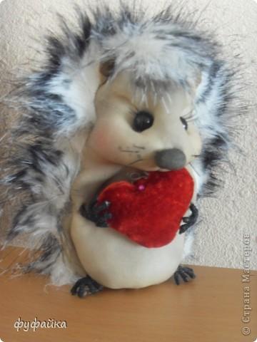 Милый романтичный и чуть-чуть влюбленный ежик.))) фото 2
