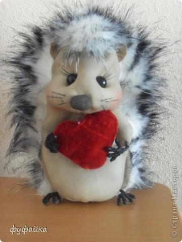 Милый романтичный и чуть-чуть влюбленный ежик.))) фото 3