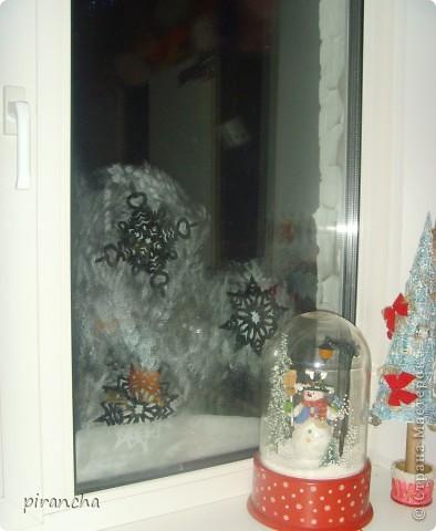 Губка, зубная паста, трафарет и на окнах морозные узоры! фото 2