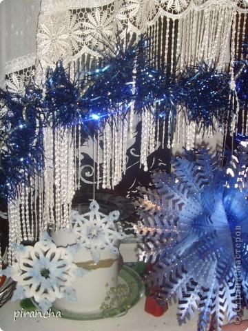 Губка, зубная паста, трафарет и на окнах морозные узоры! фото 6