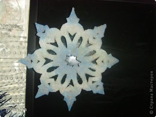 Губка, зубная паста, трафарет и на окнах морозные узоры! фото 7