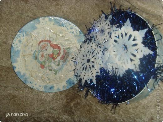 Губка, зубная паста, трафарет и на окнах морозные узоры! фото 8