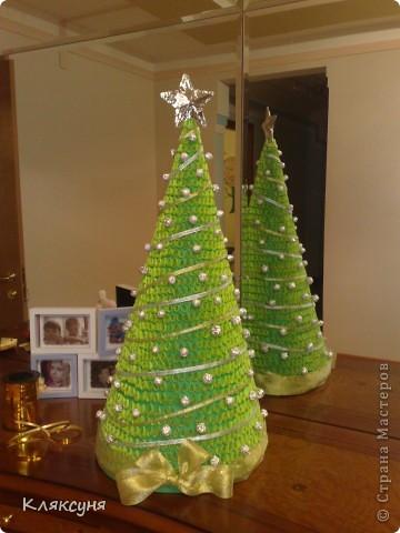 Эту елку я сделала на конкурс елок в школе. Она заняла первое место. фото 1