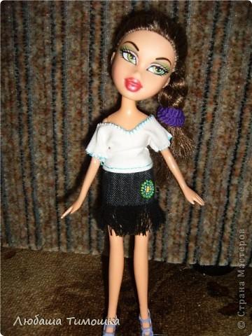 Одеваю куколку фото 10