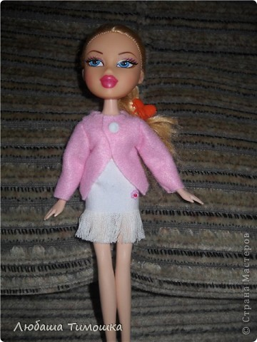 Одеваю куколку фото 1